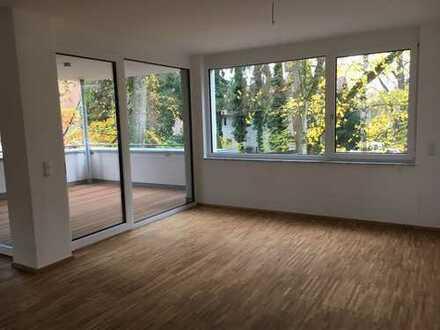 Wohnen an der Lindenallee! Stilvolle, neuwertige 3,5-Zimmer-Wohnung mit Balkon und EBK in Memmingen