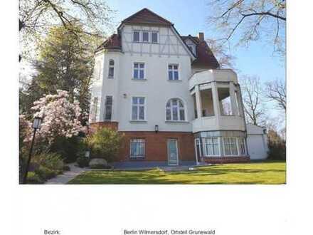 Stilvolle, sanierte 4-Zimmer-Erdgeschosswohnung mit Balkon in Grunewald (Wilmersdorf), Berlin