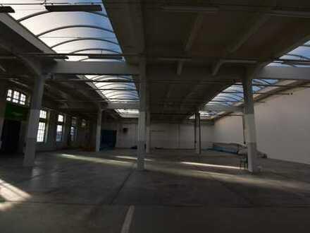 Gut belichtete und hochwertige Produktionshalle / Werkhalle im Dresdner Norden