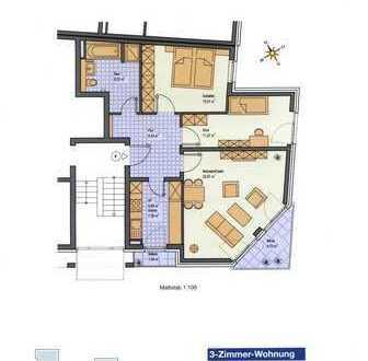 Ihre neue Wohnung: 75 m² im modernen Design mit Wintergarten, Rheinnähe, Neuss-Grimlinghausen