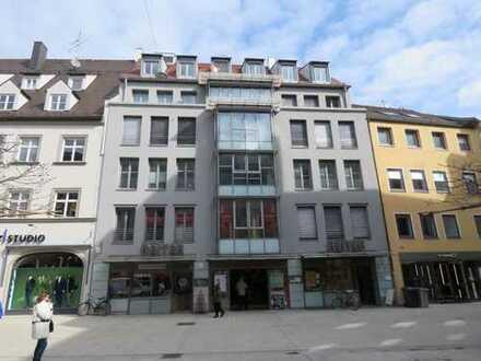**Premium Lage**Exclusive Praxis-oder Büroräume im Herzen der Augsburger Fußgängerzone**