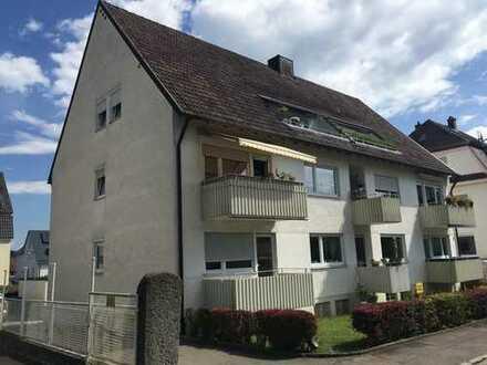Sehr schöne, ruhige, modernisierte 3-Zimmer-Wohnung mit Balkon in Ulm/Söflingen