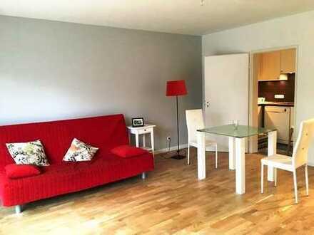 Geräumige möblierte ein Zimmer Wohnung in München, Obermenzing befristet