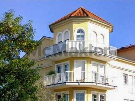 Ideale Kapitalanlage: Unbefristet vermietete 2-Zi.-Whg. mit Balkon und Erkerzimmer