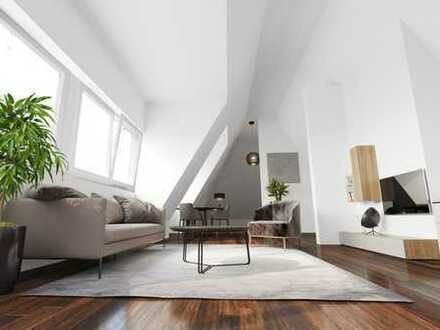 DG-Wohnung im Penthouse-Charakter - das gewisse Etwas für Individualisten