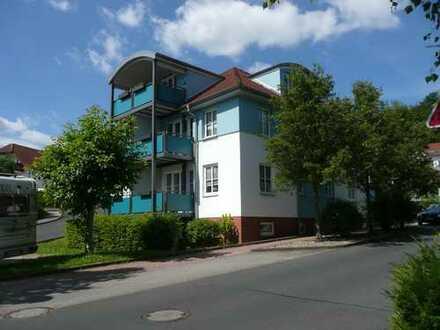 Ruhige 2-Raumwohnung mit Balkon in Krauthausen zu vermieten