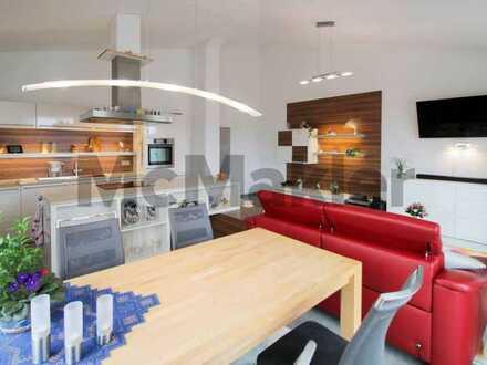 Erstklassiger Wohnkomfort und absolute Freiheit: Schickes Penthouse mit großer Dachterrasse und 2 TG