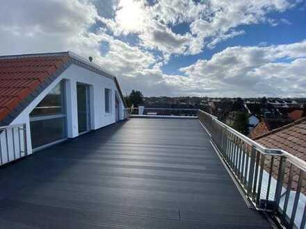 3-Zimmer-Dachgeschosswohnung mit Balkon und großzügiger Terrasse im Ortskern von Sulzbach