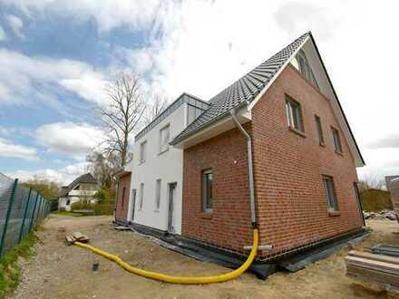 Neubauvorhaben! KfW 55 Doppelhaushälfte in Achim - Baden
