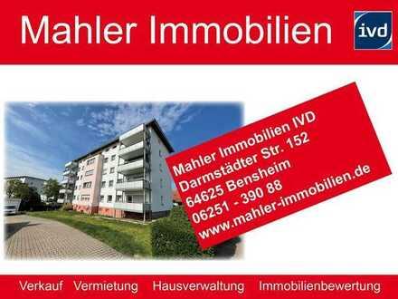rentable Kapitalanlage - helles Apartment mit vier Garagen in Bensheim Auerbach