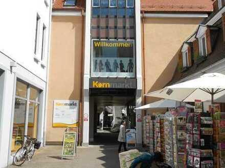 153,56 qm Einzelhandelsfläche in der Kornmarktpassage
