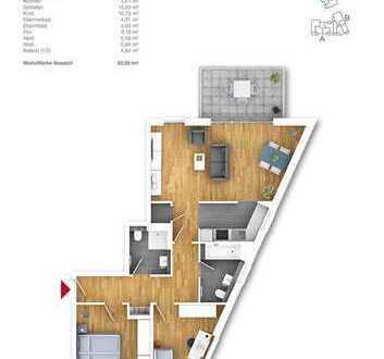 Schicke Bud´ - tolle 3 Zimmer ETW in Porz Ensen