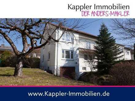 Zweifamilienhaus in bester Lage I Kappler Immobilien
