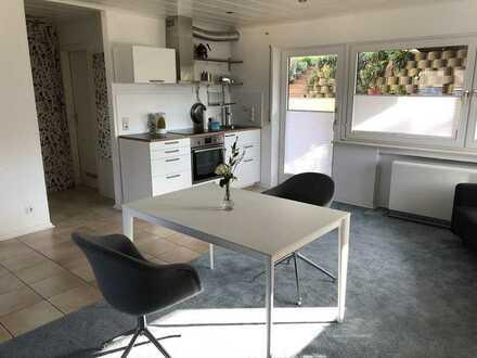 Schönes möbliertes Appartement mit Terrasse und EBK in Bühlertal