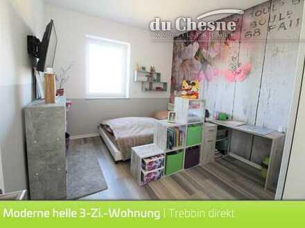 Moderne helle 3 Zi.-Wohnung | Trebbin