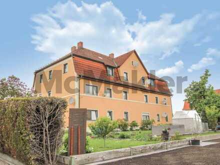 Komfortabel wohnen im Erdgeschoss: Gepflegte 3-Zi.-ETW mit separatem Hauseingang und Gartenanteil