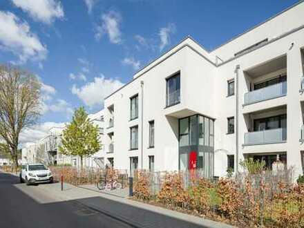 Exklusive, barrierearme Dachgeschoss-Wohnung im Neubau mit Aufzug und Dachterrasse!!
