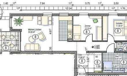 1.OG 3-Zimmerwohnung