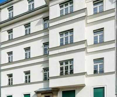 Traumhafter Erstbezug + dunkles Parkett + Fußbodenheizung + Balkon + tolles Bad + LED-Licht