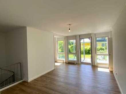 Exklusive 4-Zimmer-Maisonette-Wohnung mit Balkon und EBK am Golfplatz von Seddin