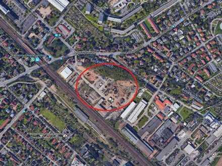 Freiflächen in geschlossenem Gewerbepark für Außenlager, Hallenbau und Gewerbe