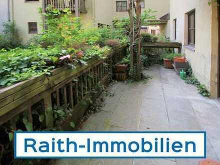 Altstadttraum! 2 Zi.-EG-Wohnung mit Terrasse