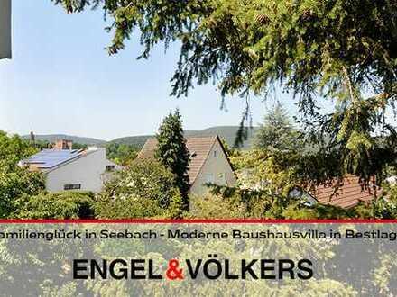 Familienglück in Seebach - Moderne Bauhausvilla in ruhiger Lage!