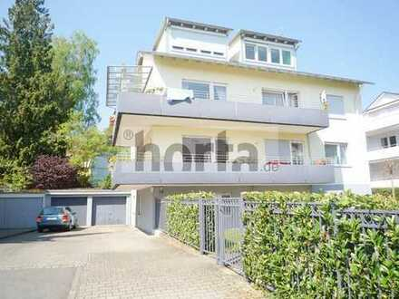 Attraktive 2-Zi.-Souterrain-Whg. mit großer Terrasse (20,98 m²) in ruhiger Lage KN-Staad