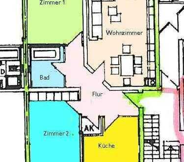 Großzügige Wohnung in ruhiger Lage in Hohenberg-Krusemark im 1. Obergeschoß