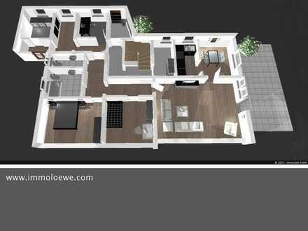 *ATTRAKTIV & MODERNISIERT * 3,5 Zimmer Erdgeschoss-Wohnung mit großer Sonnenterrasse