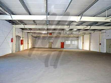 Vielseitig nutzbare Lager-/Werkstattflächen (500 qm) mit kl. Büro-/Sozialflächen zu vermieten