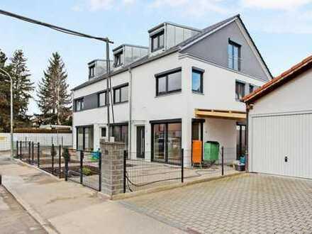 Helle Neubau Haushälfte in Trudering mit 5 Zimmern
