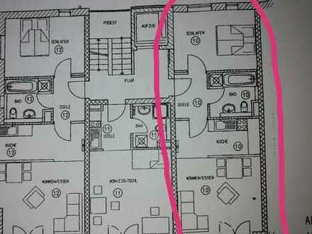 Tolle 2-Zimmer-Wohnung mit Balkon und EBK in der Eichstetter Straße Freiburg