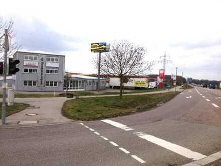 Büro und Produktion zu vermieten direkt an der B19 Untermünkheim-Übrigshausen Beste Lage
