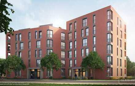 Durchdachte 3-Zimmer-Wohnung mit Loggia und Gäste-WC in einem modernen, urbanen Stadtquartier