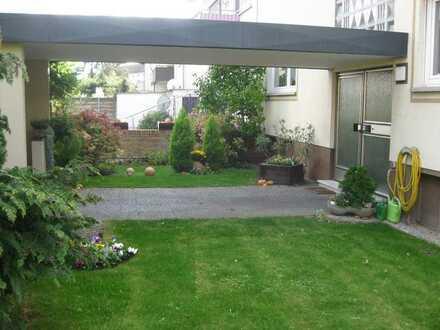 3 oder 4 Zi-EG-Wohnung mit Garten in ruhiger Lage