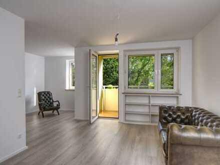 Hell und frisch modernisiert! 2- Zi mit Balkon und Einbauküche in der Parkstadt Bogenhausen