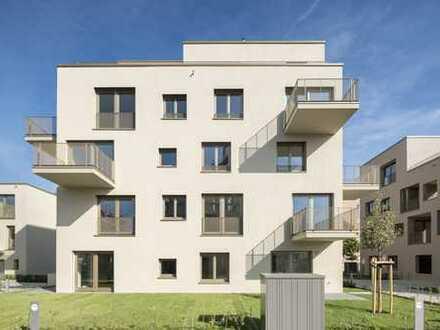 Neubau-Erstbezug: Lichtdurchflutete 3-Zimmerwohnung mit Ausblick