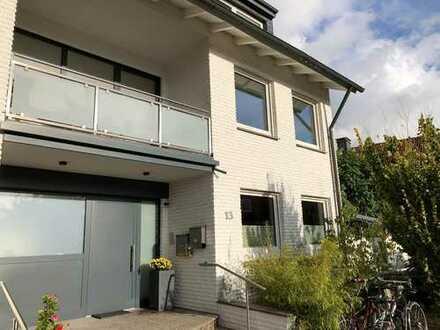 Gartenwohnung (wie Doppelhaushälfte) über 2 Etagen inkl. Vollkeller am Aasee