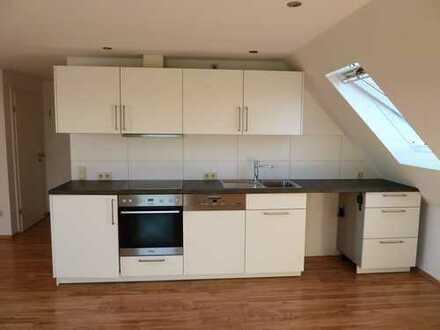 Moderne 1-Zi.-Wohnung mit Einbauküche und Südbalkon