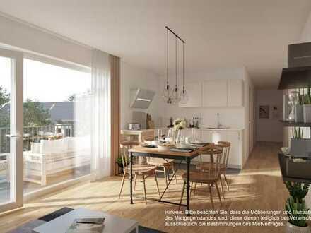 ++ Paare aufgepasst: Stilvolle Neubauwohnung mit Parkettboden, Fußbodenheizung und Balkon ++