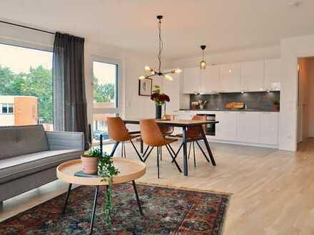 Helle 2-Zimmer Wohnung mit Weserblick
