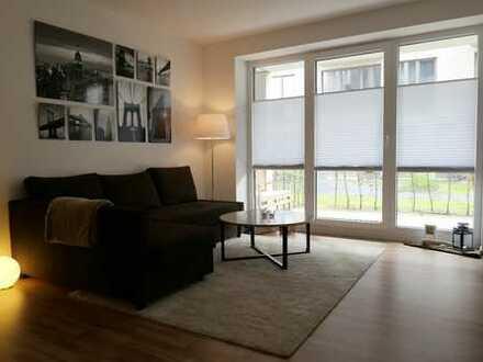 Beverbäker Wiesen -modernes KUBOX-Apartment mit Einbauküche und großer Terrasse