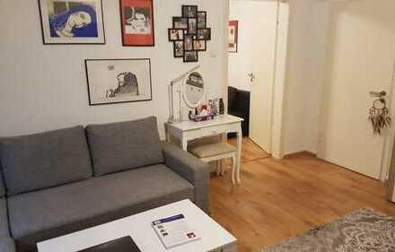 Vollmöbliertes 2-Zimmer Appartment in der Düsseldorfer Innenstadt