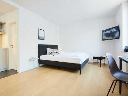 Serviced-Apartment in Köln-Lindenthal (S,306) / 25 qm für 1390€ inkl. Service, Strom, W-Lan, TV...