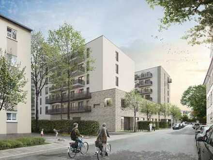 Neubau in Wiesbaden! Schöne 2-Zimmer-Wohnung mit Balkon und heller Einbauküche!