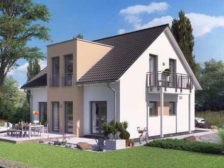 *** Durchdacht strukturiertes Einfamilienhaus mit gerader Treppe ***