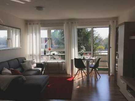 Voll möbliertes 1-ZKB Apartment mit Balkon u. Stellplatz IN nähe Klenzepark