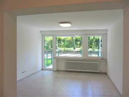 Erstbezug nach Sanierung: attraktive 1,5-Zimmer-Wohnung mit EBK und Terrasse in Bochum Langendreer