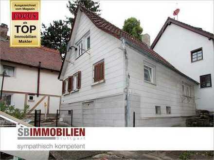 Sanierungsbedürftiges Einfamilienhaus mit Gestaltungspotential in zentraler Lage von Botnang!